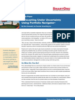 Forecasting Under Uncertainty Using Portfolio Navigator