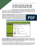 Backup Del Disco Duro o Como Crear Una Imagen Del Disco Duro Descarga Del Da