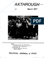 Breakthrough March 1977