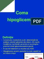 Coma Hipoglicemica