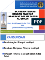 130210 Israiliyat Dalam Tafsir AlQur'an 01