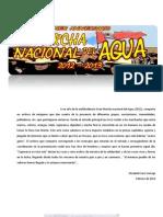 Marcha Del Agua 2012