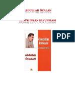 Abdullah Ocalan Ozgur Insan Savunmasi