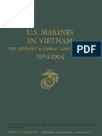 U.S. Marines in Vietnam the Advisory and Combat Assistance Era 1954-1964