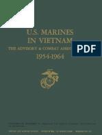 U.S. Marines in Vietnam the Advisory and Combat Assistance Era 1954-1964