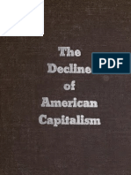 The Decline of American Capitalism (1934)