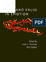 2008 - Fact and Value in Emotion - Charland & Zachar.