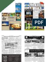 "Kuta Weekly-Edition 322 ""Bali""s Premier Weekly Newspaper"""