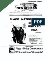 The New Afrikan VolIX No3 December