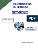 Especialidad en Logistica Aplicada 2012(3)