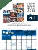Agenda Cultural Calendario 2013