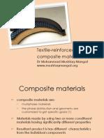 Textile-Reinforced Composite Materials