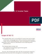 Hybd IAS 12 Prasad Paranjape.ppt