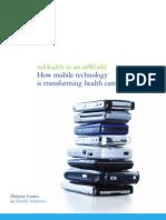 Us Chs 2012 mHealthHow MobileTechnologyisTransformingHealthcare12032012...