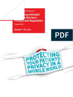 VodafoneGlobalEnterprise mHealth Insights Guide Evaluating mHealth Adoption Privacy and Regulation
