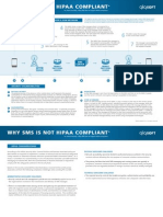 Why Sms Does Not Support Hipaa Compliance
