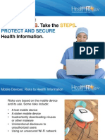 Mobile Devices and Health Information Privacy and Security