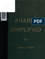Arabic Simplified