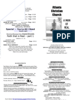 February 10, 2013 Church Bulletin