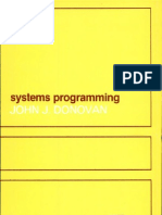 Systems Programming by Donovan