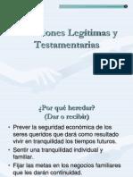 4.- Sucesiones Testamentarias y Legitimas