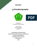 Referat Maag Duoednography - Rien Novia 08310259
