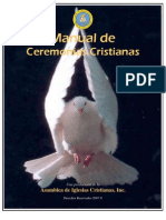 Manual de Ceremonias Cristianas