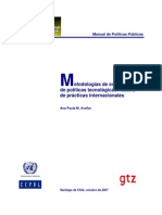 CEPAL Metodologías de evaluación de políticas tecnológicas
