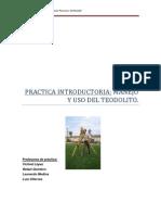 Practica Introductoria_manejo y Uso Del Teodolito