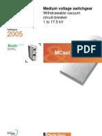 Catalog Mc Set Vacuum Type 17.5 Kv