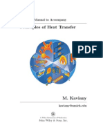 Principles of Heat Transfer Solutions Manual
