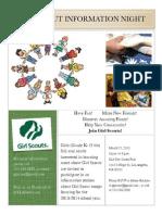 Gs Info Flyer