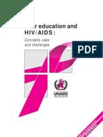 Peer Education Un Aids