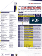 Acca Crash Courses