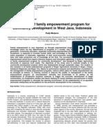 Family Empowerment Community Development Indonesia
