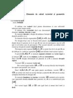 Calcul Vectorial
