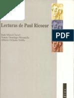 Lecturas de Paul Ricoeur