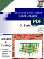 Topic Beam Columns