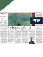 Daniele Del Giudice, Lo Spirito Di Contraddizione e La Luce, Di PIETRO CITATI - Corriere Della Sera 10.02.2013