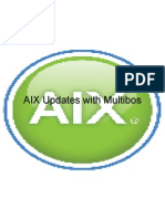 aix updates using multibos.ppt