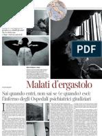 L'inferno degli Ospedali psichiatrici giudiziari - La Lettura N.65 10.02.2013
