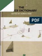 Adrian Parr - The Deleuze Dictionary