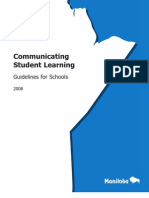Communicating Student Learning