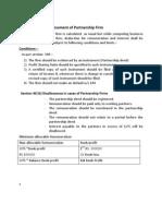 Assessment of Partnership Firm