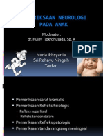 Pemeriksaan Fisik Neurologis Pada Anak