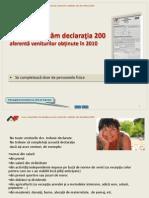 Anaf Completarea Formularului 200