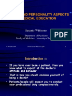 Personality and Medec 2006 (Power Point Prof SW)