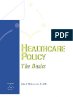 Healthcare Policy - The Basics