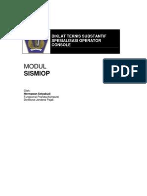 modul sismiop