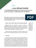 Entrevista Alfredo Embid